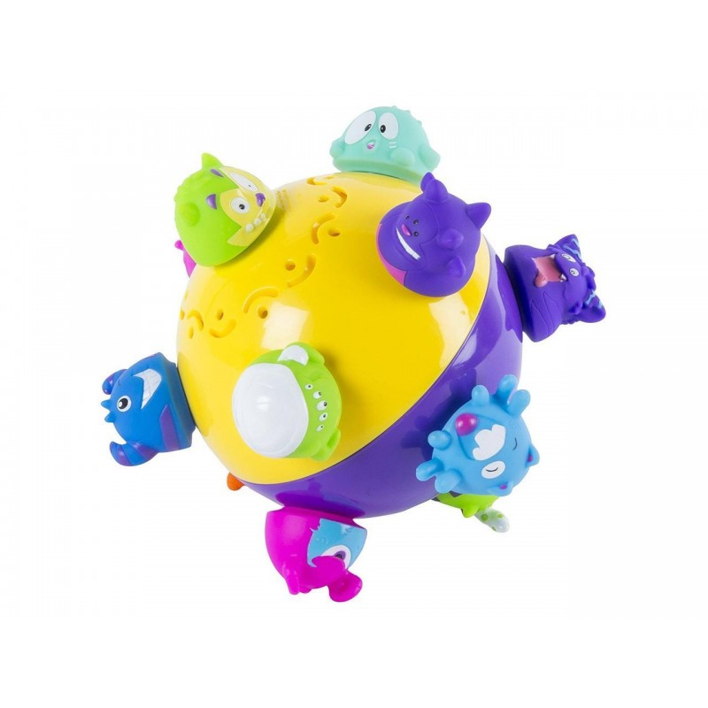 PELOTA CHUCKLE MONSTER CON SONIDO