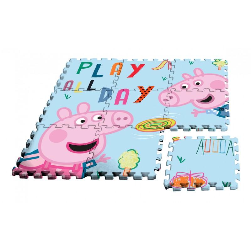 ALFOMBRA PUZZLE DE PEPPA PIG