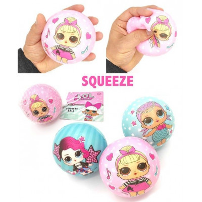 SQUEEZE BALL 7,5CM LOL