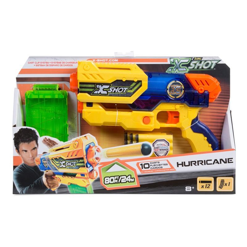 PISTOLA X-SHOT SET HURRICANE