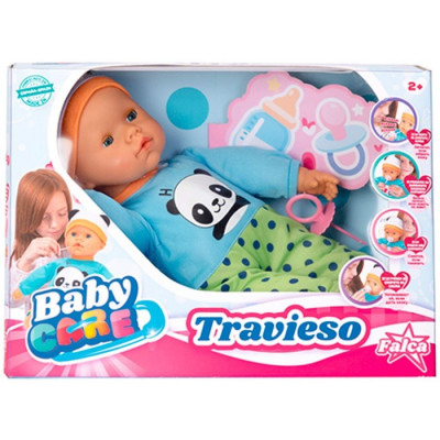 MUÑECO BABY CARE TRAVIESO