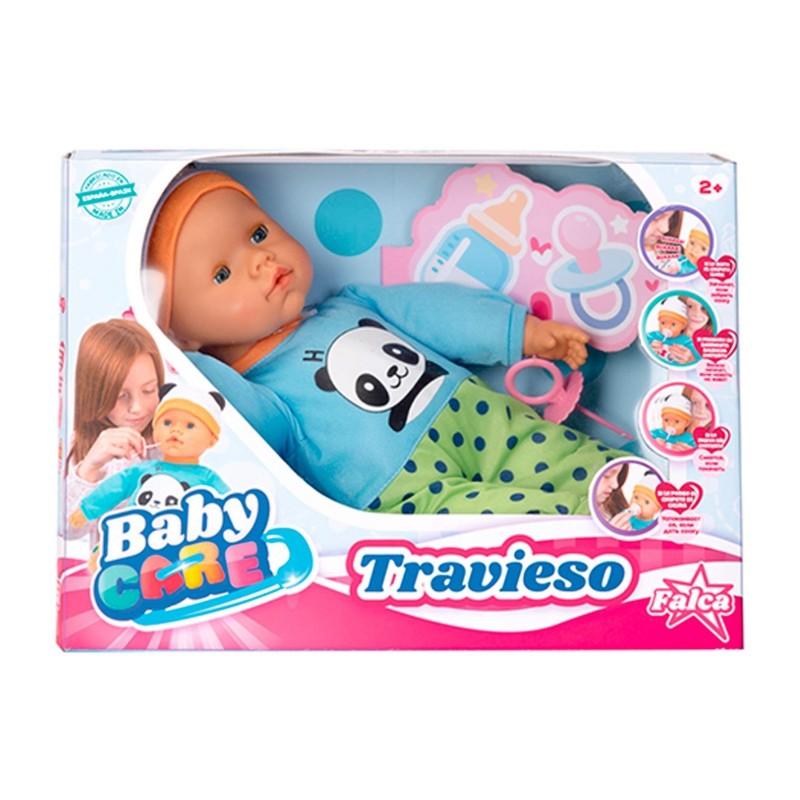 MUÑECO BABY CARE TRAVIESO