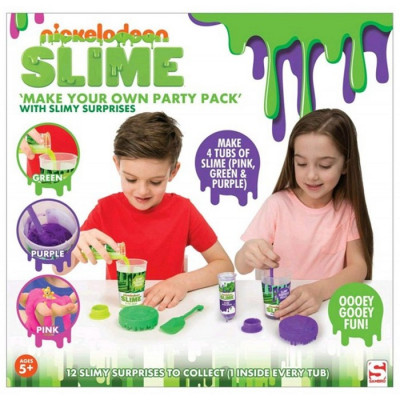 CREA TU PROPIO SLIME PARTY PACK