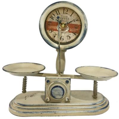 RELOJ DECORATIVO BALANZA - BLANCO de la categoría Decoración Relojes