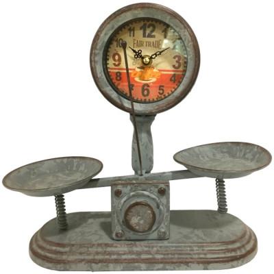 RELOJ DECORATIVO BALANZA - VERDE de la categoría Decoración Relojes