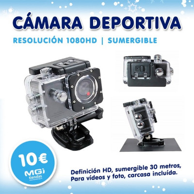 CÁMARA DEPORTIVA EDITION 1080 HD de la categoría