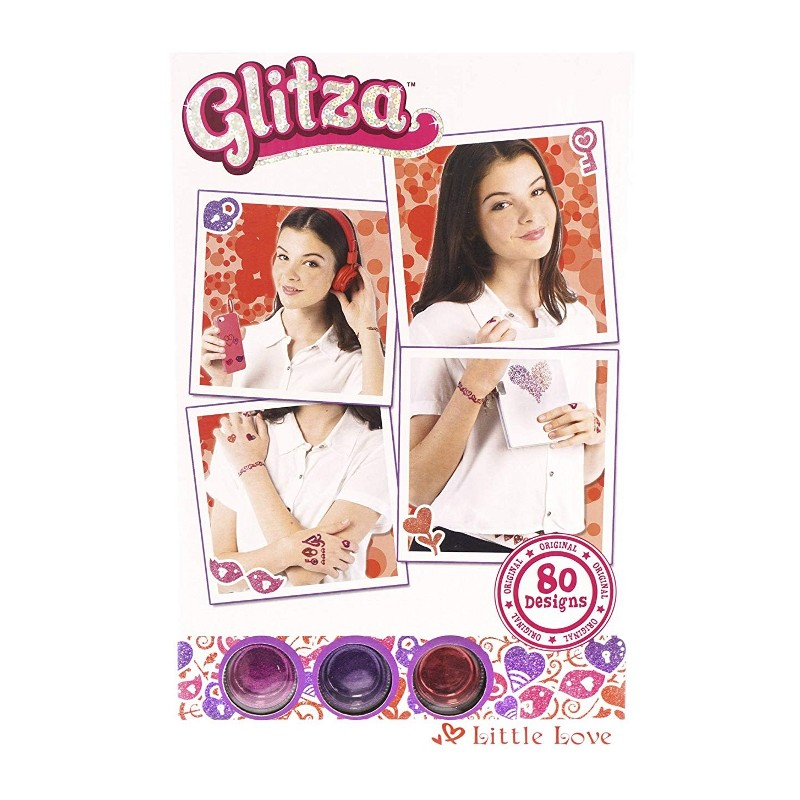 GLITZA-80 DISEÑOS LITTLE LOVE
