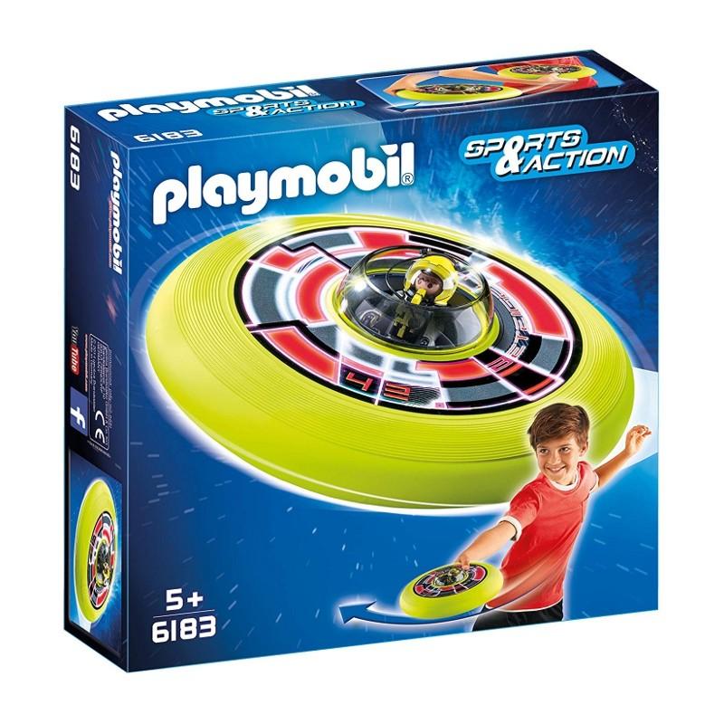 PLAYMOBIL - DISCO VOLADOR CÓSMICO CON ASTRONAUTA de la categoría Juegos
