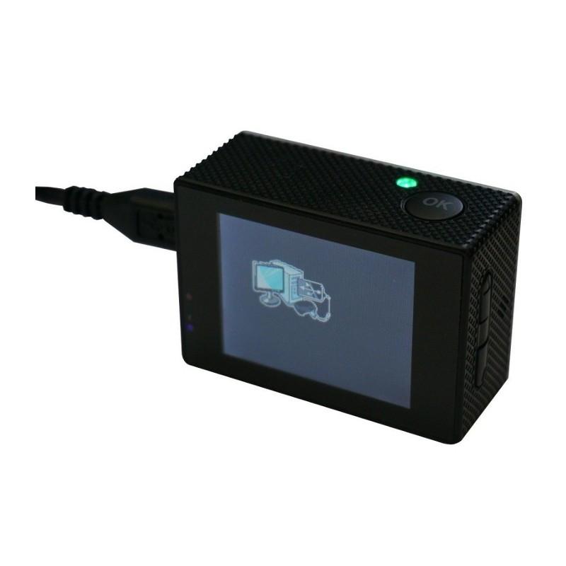 SPORT CAM, CÁMARA DEPORTIVA, 720P, MOBILE+ MODELO MB-SC1007 - BLANCO