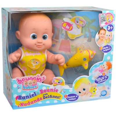 BOUNCIN BABIES NADANDO CON DELFINES - BANIEL-