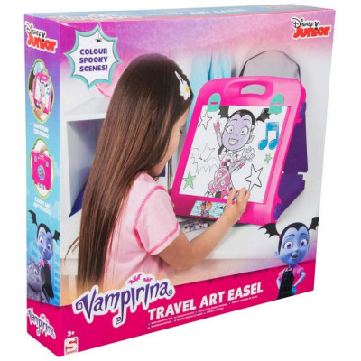 PIZARRA VAMPIRINA TRAVEL ART EASEL