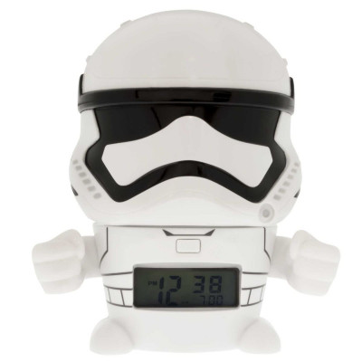 RELOJ DESPERTADOR STAR WARS BULBBOTZ  STORM TROOPER