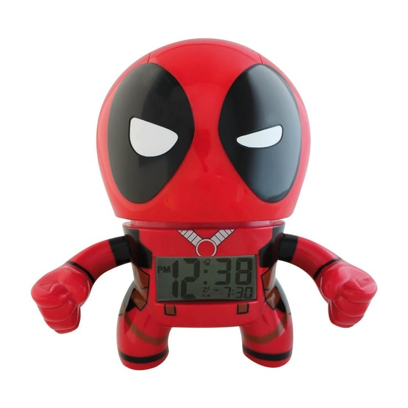 RELOJ DESPERTRADOR BULBBOTZ DEADPOOL
