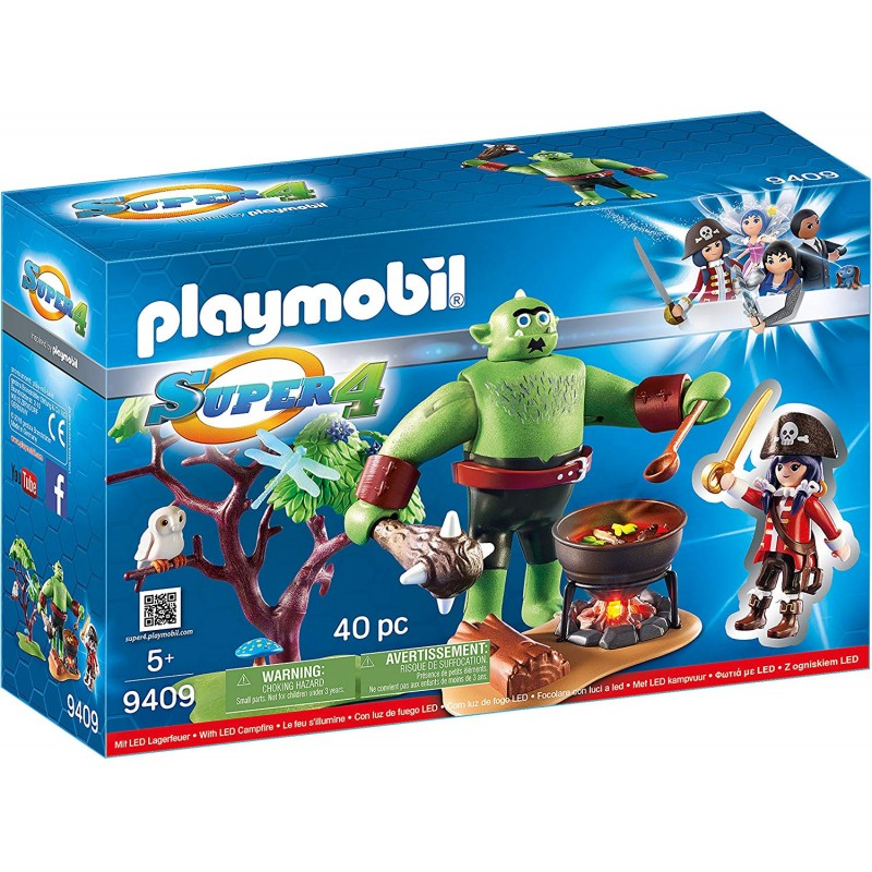 PLAYMOBIL SUPER 4 OGRO CON RUBY