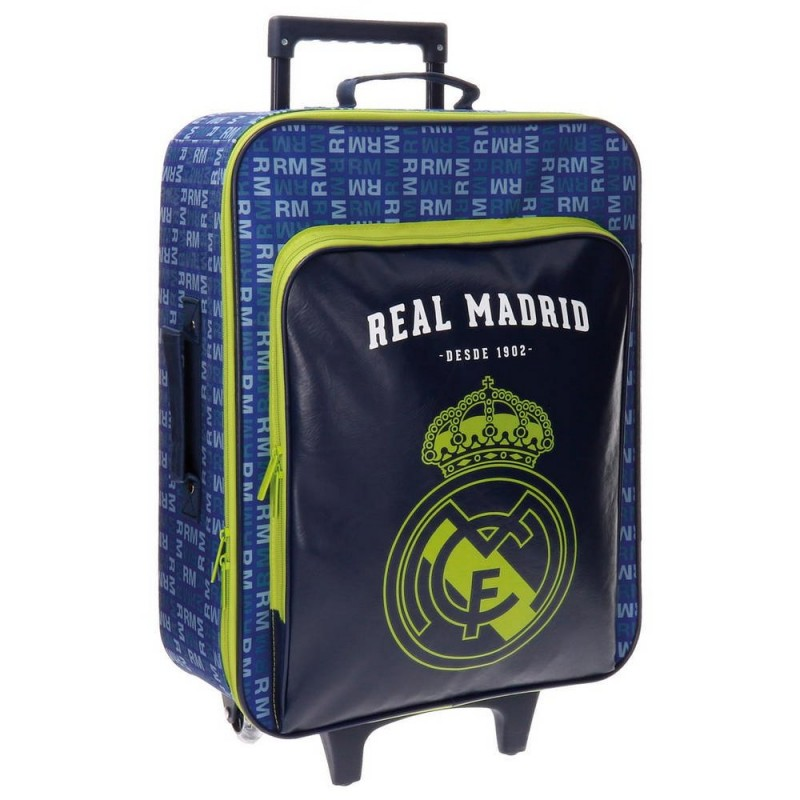 TROLLEY REAL MADRID DE 2 RUEDAS