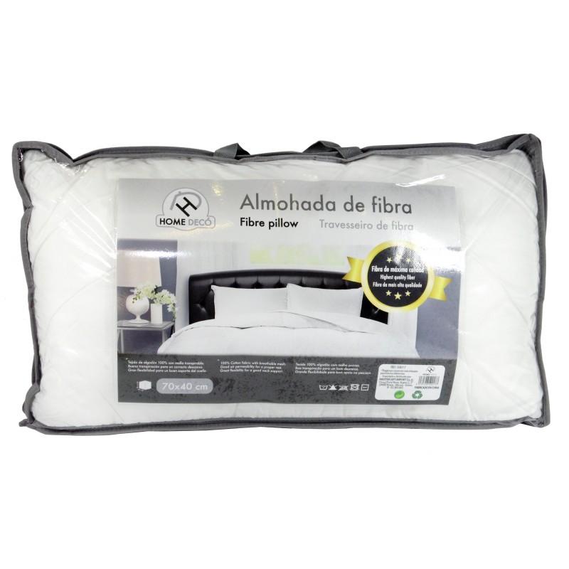 ALMOHADA DE FIBRA 70 X 40 CM