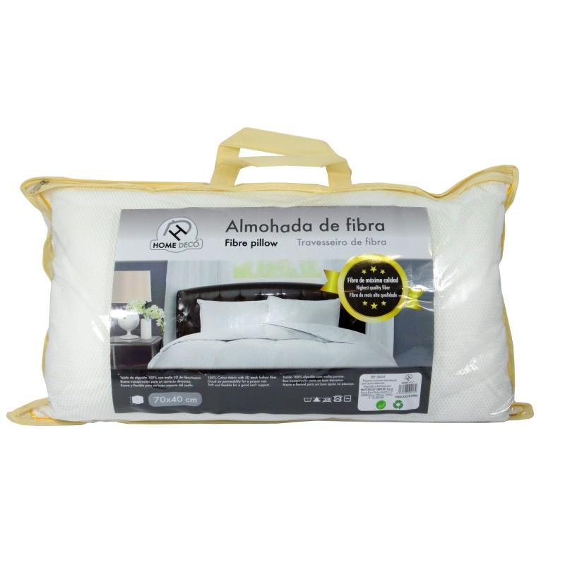 ALMOHADA RELLENO FIBRA 70 X 40 CM de la categoría Textil Dormitorio