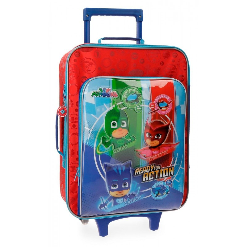 TROLLEY PJMASKS DE 2 RUEDAS