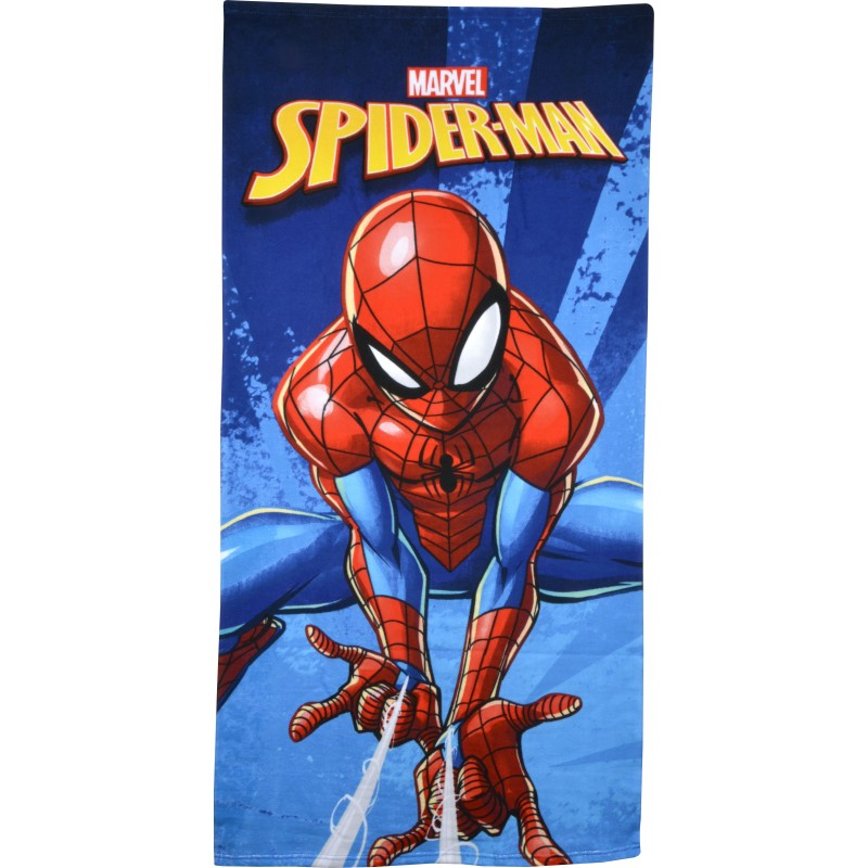 TOALLA PLAYA SPIDERMAN 70X140CM