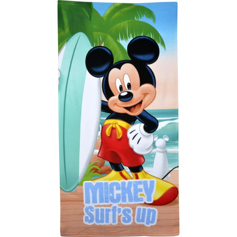 TOALLA PLAYA MICKEY 70X140