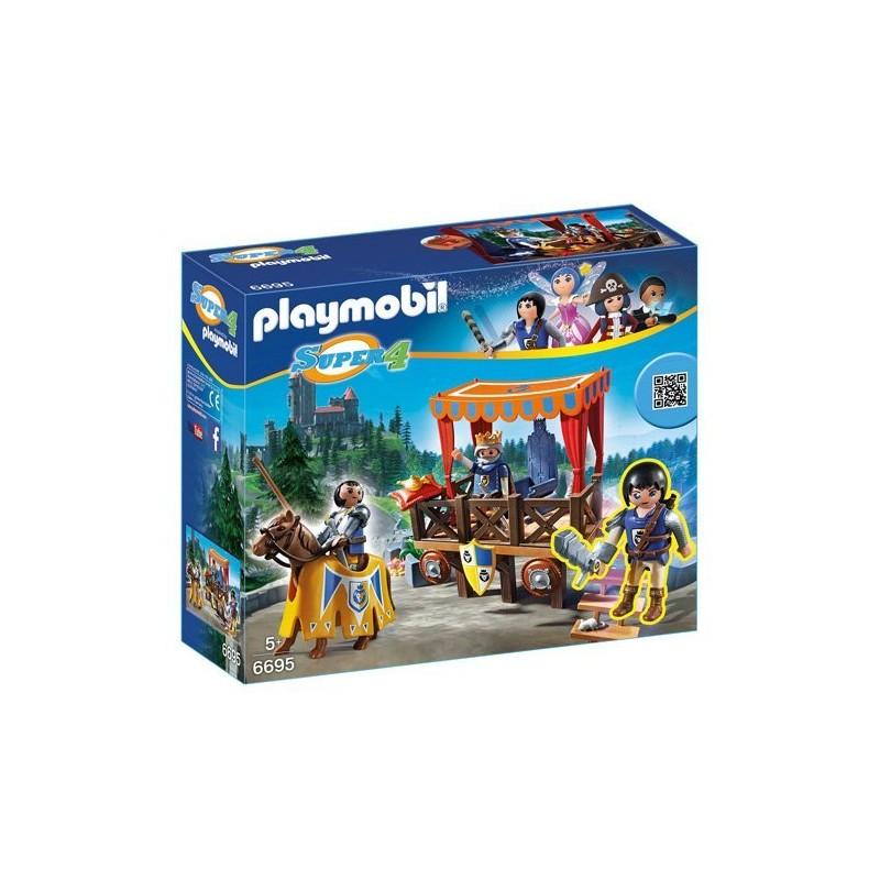 PLAYMOBIL SUPER 4 MEDIEVAL