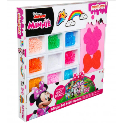 MEGA SET DE PERLAS FUNDIBLES DE MINNIE MOUSE