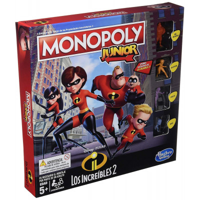MONOPOLY JUNIOR LOS INCREIBLES
