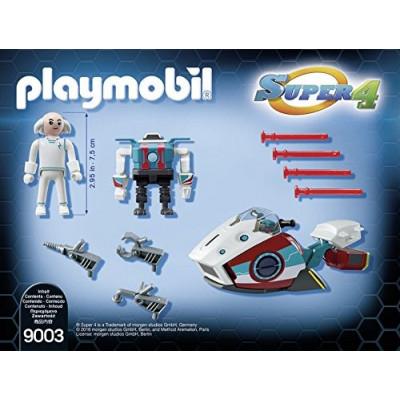 PLAYMOBIL SUPER 4 SKYJET DOCTOR X CON ROBOT de la categoría