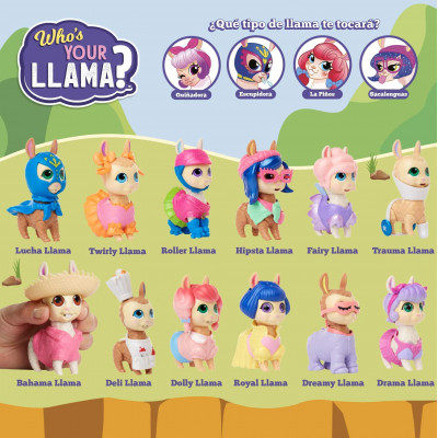 FIGURA WHO´S YOUR LLAMA