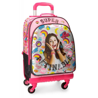 TROLLEY-MOCHILA SOY LUNA