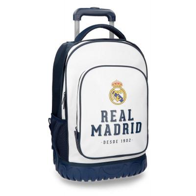 MALETA JUVENIL 2 RUEDAS REAL MADRID COMPACT