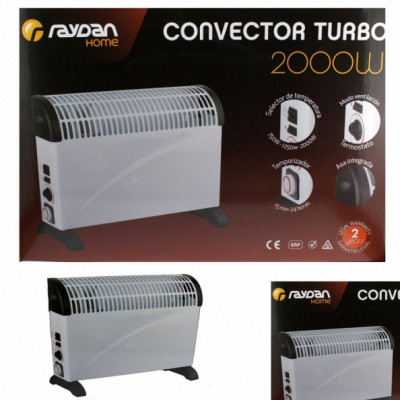 CONVECTOR CON TURBO RAYDAN HOME