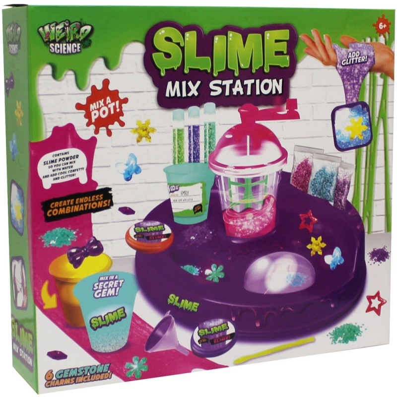 FÁBRICA DE SLIME MIX STATION