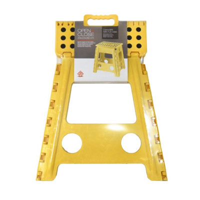 ESCALERA ALZADOR PLEGABLE -AMARILLO-