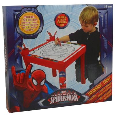 MESA PARA COLOREAR SPIDERMAN de la categoría Spiderman