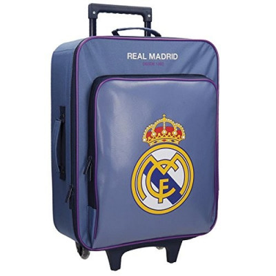 TROLLEY REAL MADRID BASIC AZUL