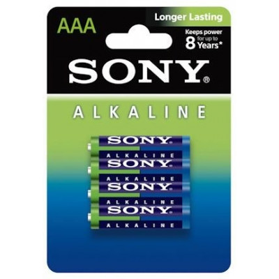 PAQUETE 4 PILAS AAA 1.5 V SONY