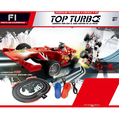 PISTA DE CARRERAS F1 TOP TURBO