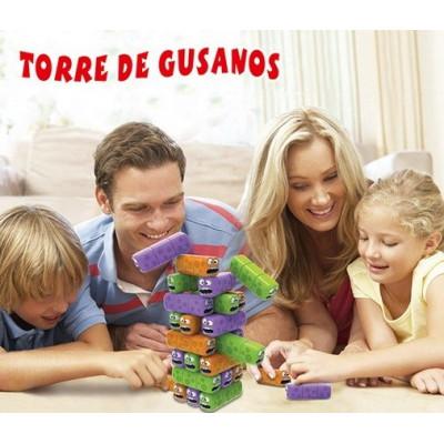 TORRE DE GUSANOS - JUEGO DE...