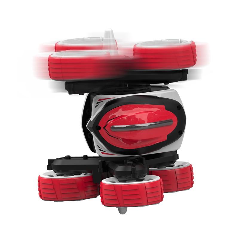 Coche Paragua Spin Rojo