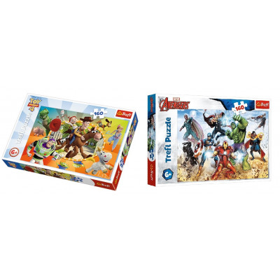 SET 2 PUZZLE TOY STORY +...