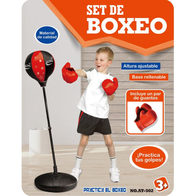 SET DE BOXEO CON PIE