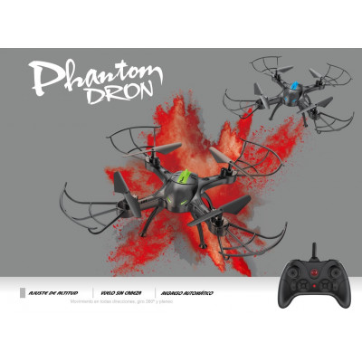 PHANTOM DRON RC 2.4GHz - VERDE