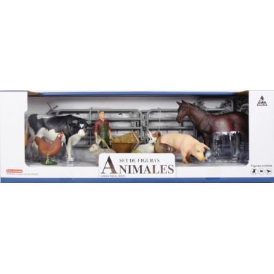 SET DE FIGURAS DE ANIMALES...