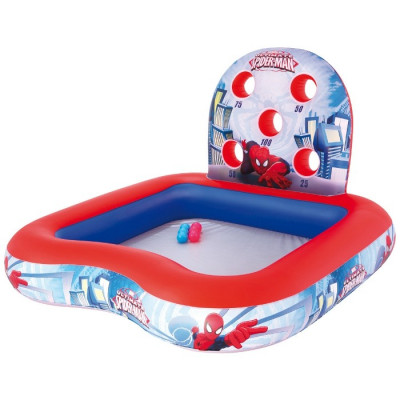 PISCINA 6 BOLAS SPIDERMAN 155CMS