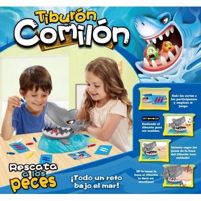 TIBURÓN COMILÓN - JUEGO DE...