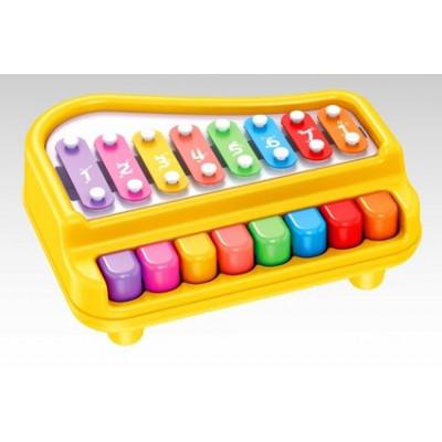 PIANO INFANTIL AMARILLO CON...