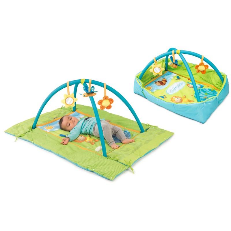 Manta AZUL de actividades para bebés con bordes | Tiendas MGI