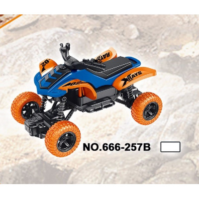 QUAD AZUL RACING RC...
