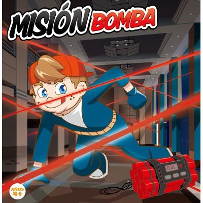 MISIÓN BOMBA - JUEGO DE ESCAPE